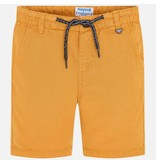MAYORAL PRESCHOOL BOYS LINEN SHORTS - POLLEN