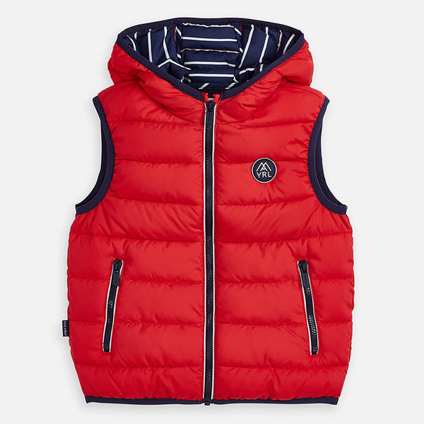 PRESCHOOL BOYS PADDED VEST - HIBISCUS