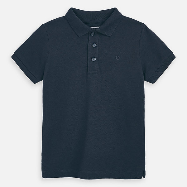 PRESCHOOL BOYS SHORT SLEEVED POLO SHIRT - LEAD