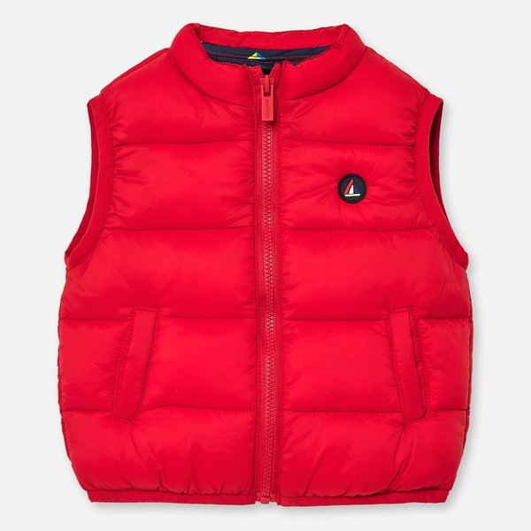 INFANT BOYS PADDED VEST - HIBISCUS