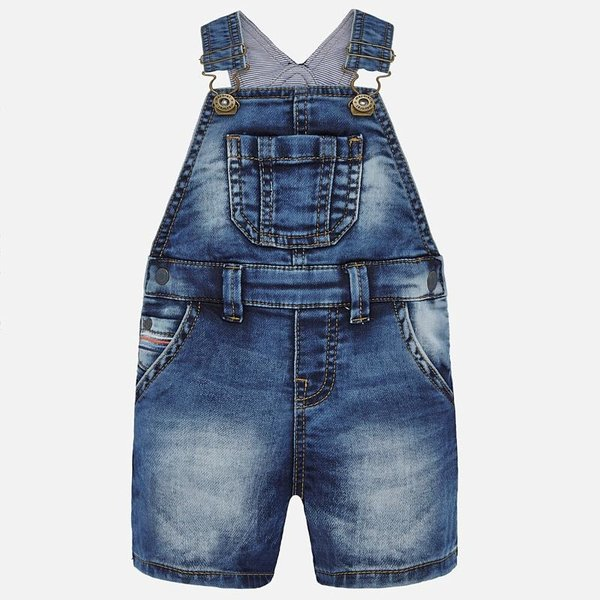 INFANT BOYS DENIM OVERALLS