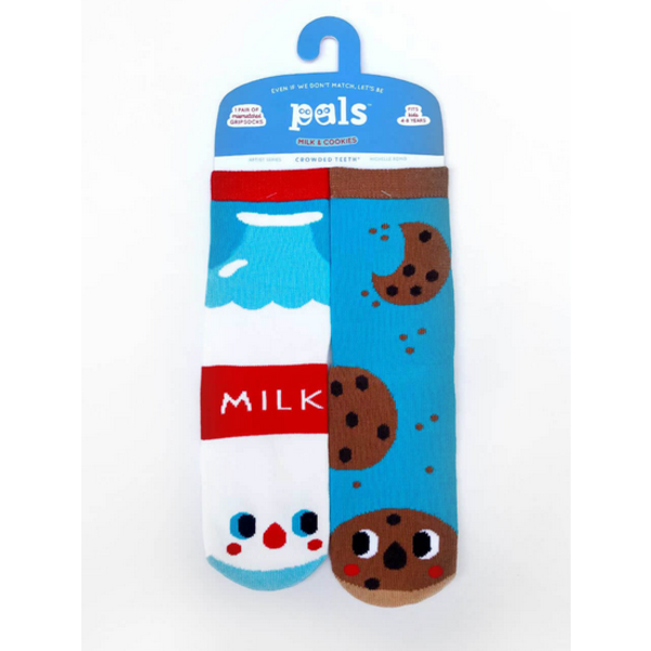MILK & COOKIES SOCKS - 4-8 YEARS