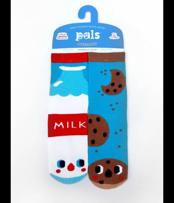 PALS MILK & COOKIES SOCKS - 4-8 YEARS