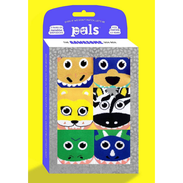 RAWRSOME BOXED SOCKS - 1-3 YEARS