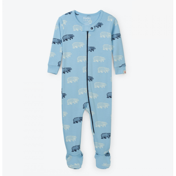 BAND OF BEARS INFANT COVERALLS - SIZE 18-24 MONTHS ONLY