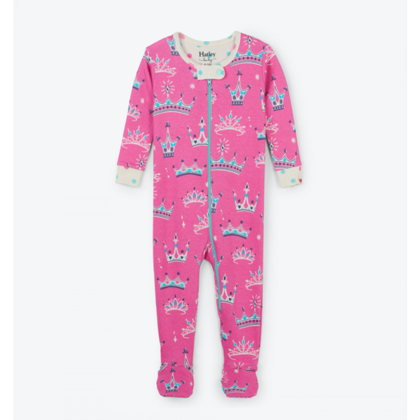 PRETTY PRINCESS INFANT COVERALLS