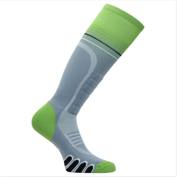 SILVER SUPREME SOCKS - GREY/ACID