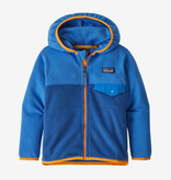 PATAGONIA INFANT BABY MICRO D SNAP-T JACKET - SUPERIOR BLUE