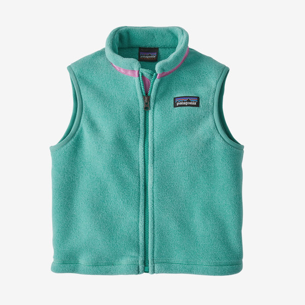INFANT SYNCHILLA VEST - BERYL GREEN - SIZE 3-6 MONTHS ONLY