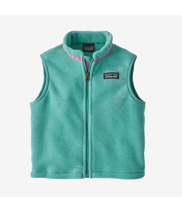 PATAGONIA INFANT SYNCHILLA VEST - BERYL GREEN - SIZE 3-6 MONTHS ONLY