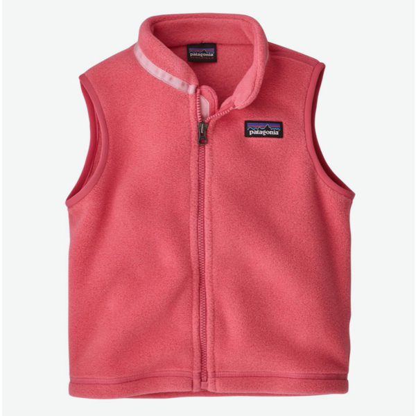 INFANT SYNCHILLA VEST - RANGE PINK