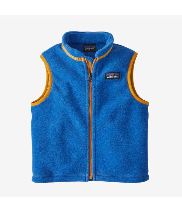 PATAGONIA TODDLER SYNCHILLA VEST - BAYOU BLUE - SIZE 3T ONLY
