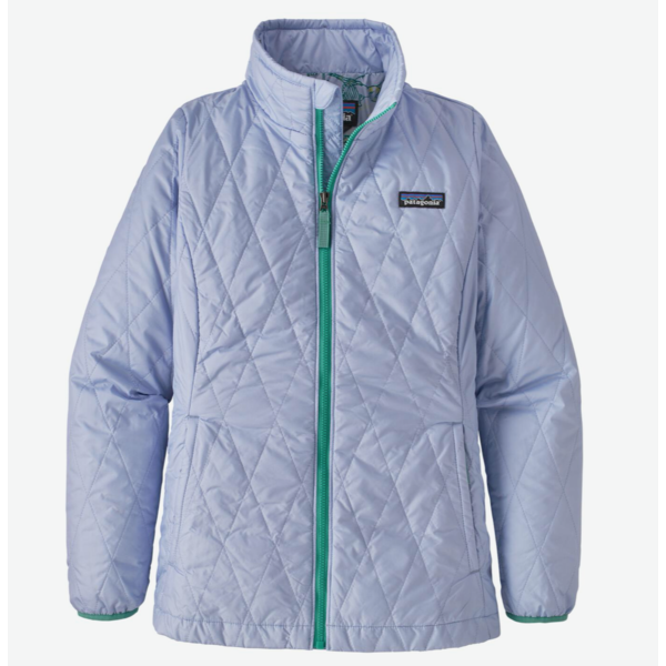 JUNIOR GIRLS NANO PUFF JACKET - BELUGA