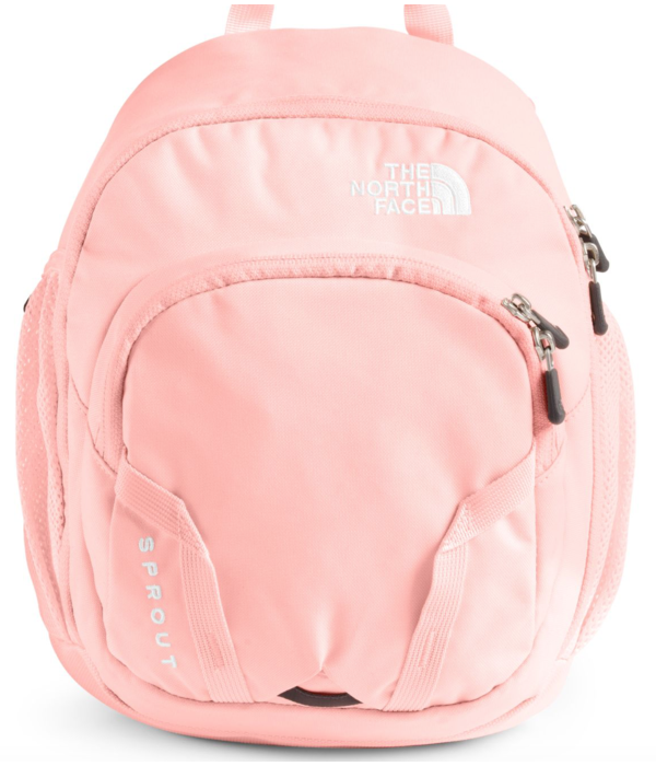 THE NORTH FACE YOUTH SPROUT BACKPACK - IMPATIENTS PINK