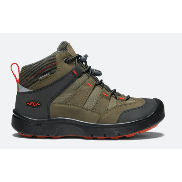 HIKEPORT WATERPROOF YOUTH - OLIVE/ORANGE