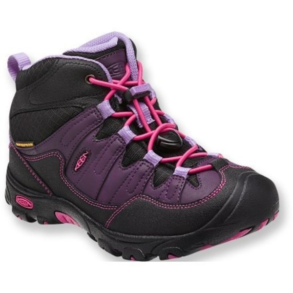 PAGOSA WP MID BOOT YOUTH - BLACKBERRY - SIZE 6 ONLY
