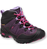 KEEN PAGOSA WP MID BOOT YOUTH - BLACKBERRY - SIZE 5 ONLY