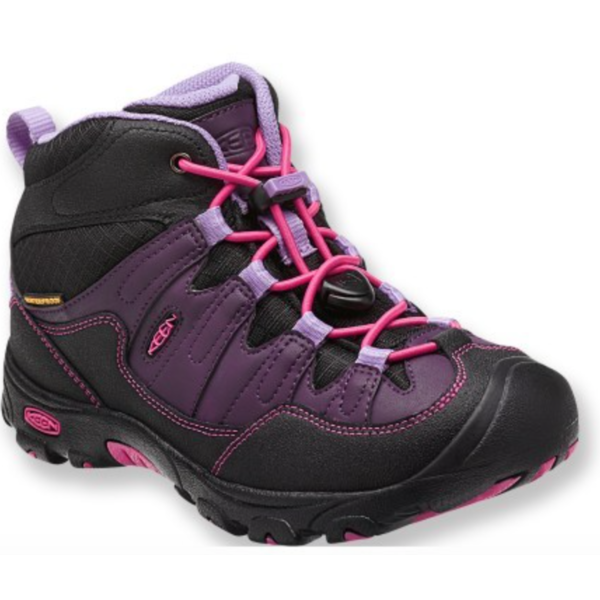 PAGOSA WP MID BOOT YOUTH - BLACKBERRY - SIZE 5 ONLY
