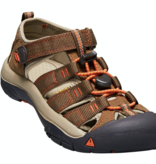 KEEN NEWPORT H2 YOUTH - DARK EARTH/SPICY ORANGE - SIZE 5 ONLY