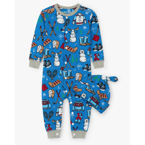 INFANT BOYS WINTER TRADITIONS COVERALL