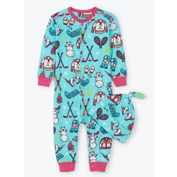 INFANT GIRLS WINTER TRADITIONS COVERALL