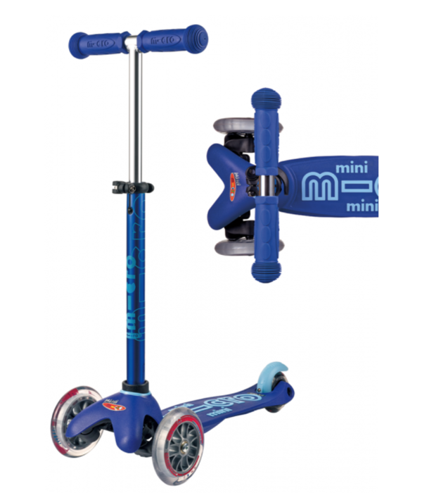 MICRO KICKBOARD BLUE MICRO MINI DELUXE - 2-5 YEARS