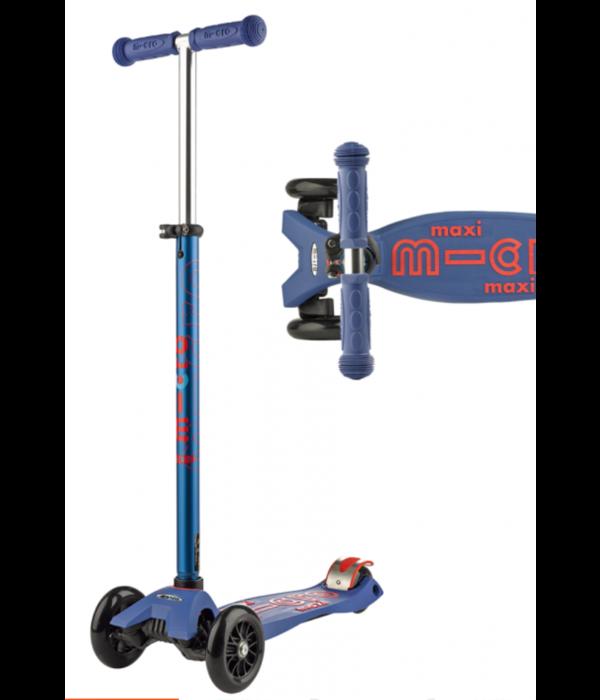 MICRO KICKBOARD BLUE MAXI DELUXE - 5-12 YEARS
