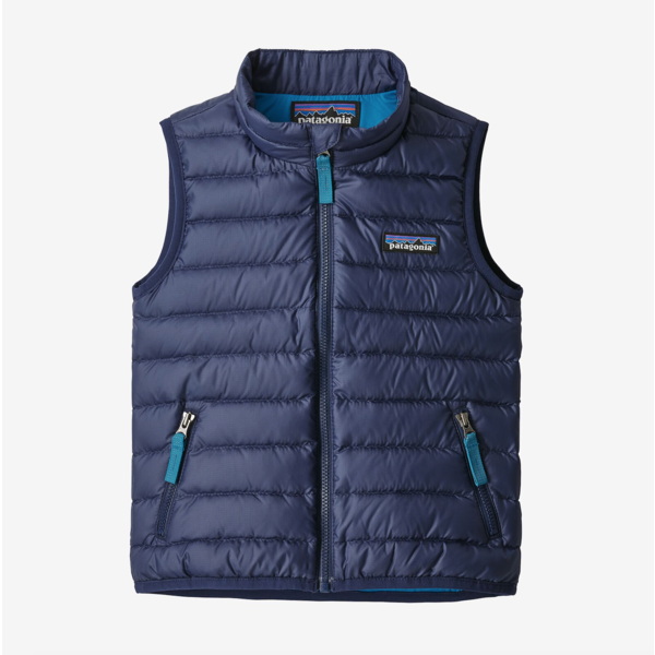 INFANT DOWN SWEATER VEST - CLASSIC NAVY