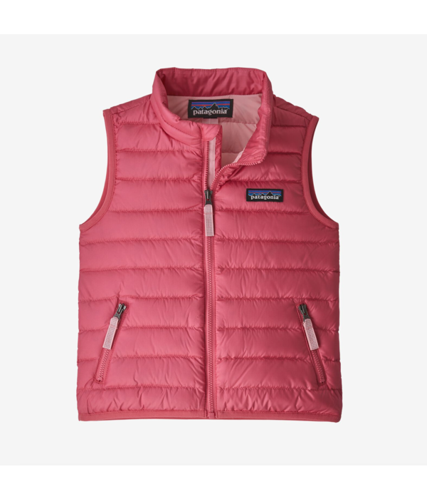 PATAGONIA INFANT DOWN SWEATER VEST - RANGE PINK - SIZE 6-12 MONTHS ONLY