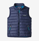 PATAGONIA TODDLER DOWN SWEATER VEST - CLASSIC NAVY - SIZE 5T ONLY