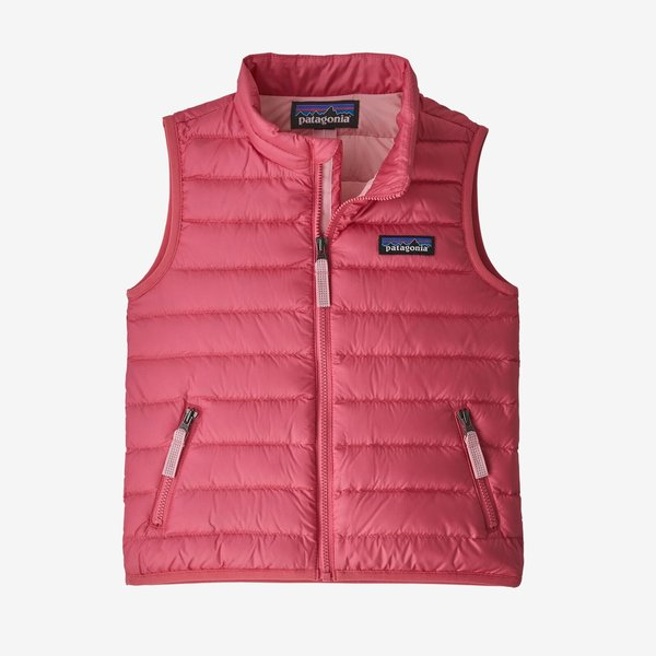 TODDLER DOWN SWEATER VEST - RANGE PINK