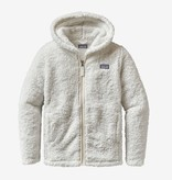 PATAGONIA JUNIOR GIRLS LOS GATOS FLEECE HOODY - BIRCH WHITE