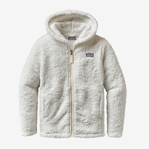 JUNIOR GIRLS LOS GATOS FLEECE HOODY - BIRCH WHITE