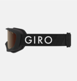 GIRO CHICO GOGGLES - BLACK WITH AMBER LENS