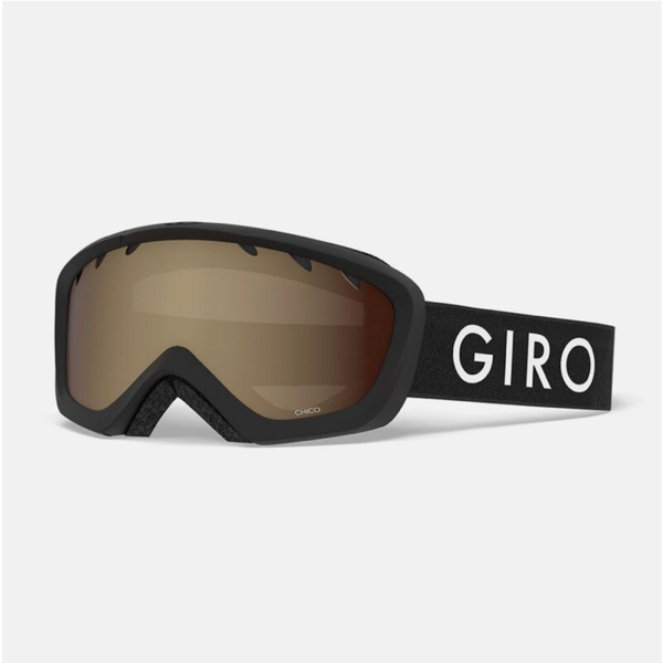 CHICO GOGGLES - BLACK WITH AMBER LENS
