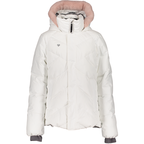 JUNIOR GIRLS MEGHAN SKI JACKET - WHITE