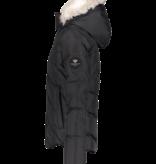 OBERMEYER JUNIOR GIRLS MEGHAN SKI JACKET - BLACK - SIZE XLARGE/18 ONLY