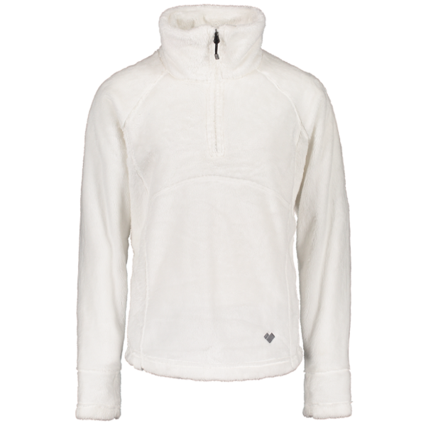 JUNIOR GIRLS SECOND LAYER FURRY FLEECE - WHITE