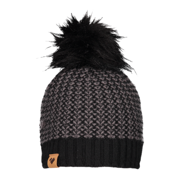 JUNIOR GIRLS TUCSON POM BEANIE - BLACK