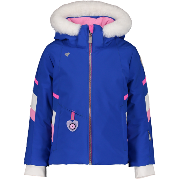 PRESCHOOL GIRLS KATELYN SKI JACKET - IRIS BLUE