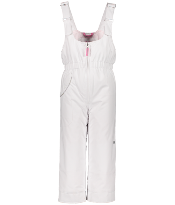 OBERMEYER PRESCHOOL GIRLS SNOVERALL SKI PANT - WHITE