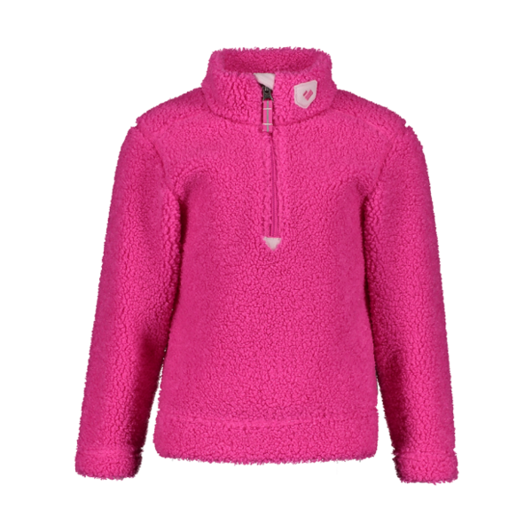 PRESCHOOL GIRLS SECOND LAYER SUPERIOR GEAR ZIP TOP - PINK POWER