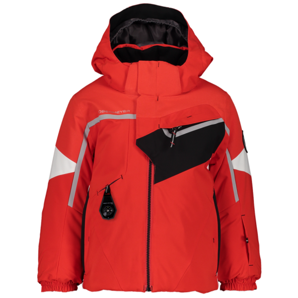 PRESCHOOL BOYS FORMATION. SKI JACKET - RED