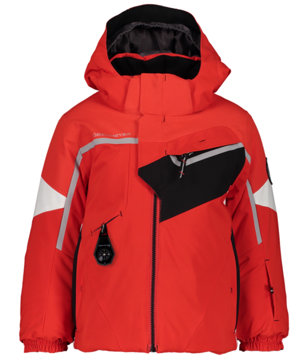 OBERMEYER PRESCHOOL BOYS FORMATION. SKI JACKET - RED