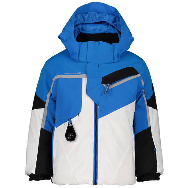 PRESCHOOL BOYS FORMATION. SKI JACKET - BLUE VIBES - SIZE 3 ONLY