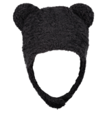 OBERMEYER PRESCHOOL BOYS TED FUR HAT - BLACK