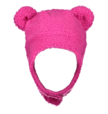 OBERMEYER PRESCHOOL GIRLS TED FUR HAT - PINK POWER