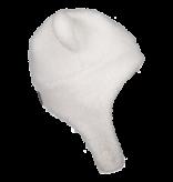 OBERMEYER PRESCHOOL GIRLS TED FUR HAT - WHITE