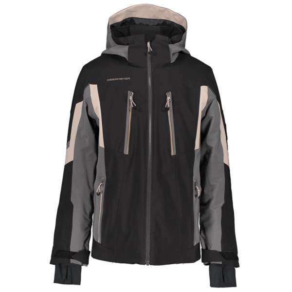 JUNIOR BOYS MACH 11 SKI JACKET - BLACK