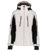OBERMEYER JUNIOR BOYS MACH 11 SKI JACKET - FOG